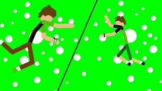Stick Nodes PRO#(BEN 10 OMNIVERSE VS BEN 10 REBOOT 3)