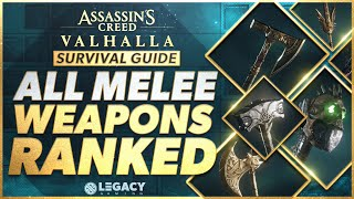 Every Melee Weapon Ranked | Assassin's Creed Valhalla Survival Guide
