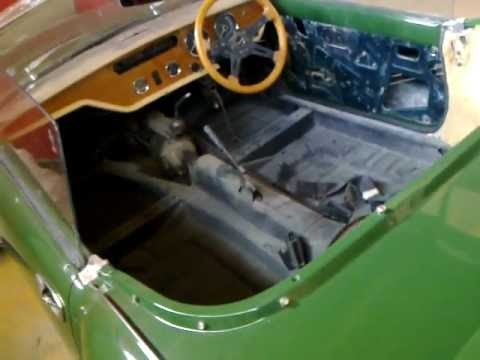 Triumph Spitfire 1971 Restoration Preparationmp4 Youtube