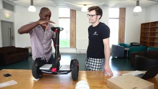 Segway Ninebot Mini Pro Unboxing(http://www.Ninebot.Ninja send us one of their Ninebot Mini robots. We are looking at the feasibility of using it as a base for our library robot we are working on at ..., 2016-06-05T03:00:14.000Z)