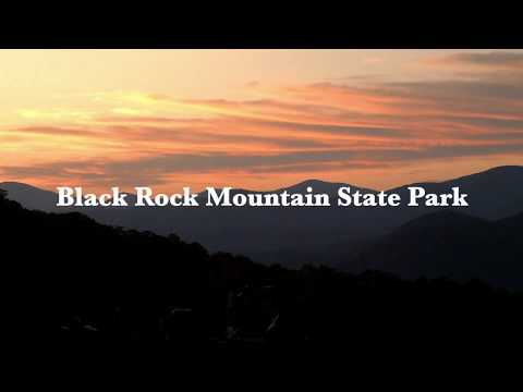 Time-lapse of Sunset from Black Rock Mountain State Park, N Georgia.