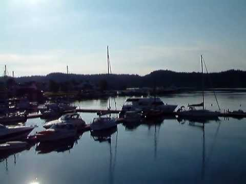 June morning in Lillesand in Norway