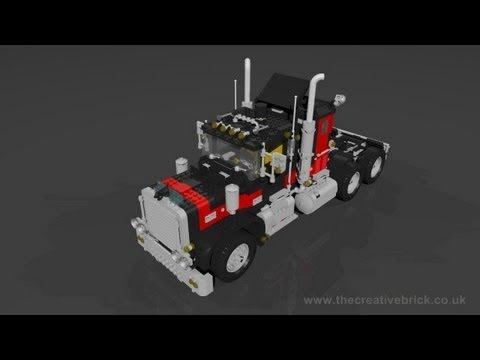 Lego Set 5571 Giant Truck Black Cat Model Team Youtube