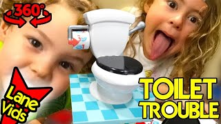 TOILET TROUBLE CHALLENGE - 360 Video