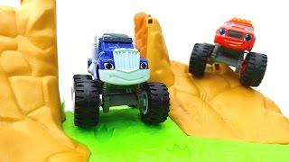 Вспыш и чудо-машинки - Новая трасса для машинок
