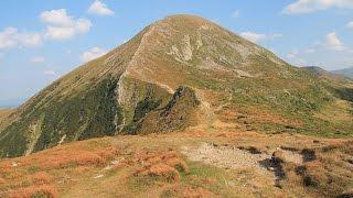 Гора Говерла 2061 м над рвнем моря