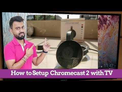 How To Make A Normal TV Into Smart TV | Google Chromecast 2 Setup And Use