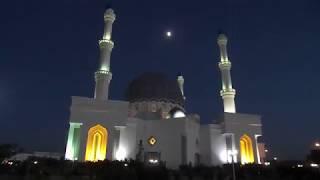 Mosque in Mary. Evening Turkmenistan. Вечерняя мечеть в Мары.