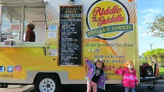 Yummy Grilled Cheese Food Truck and Clearwater Farmers Market!