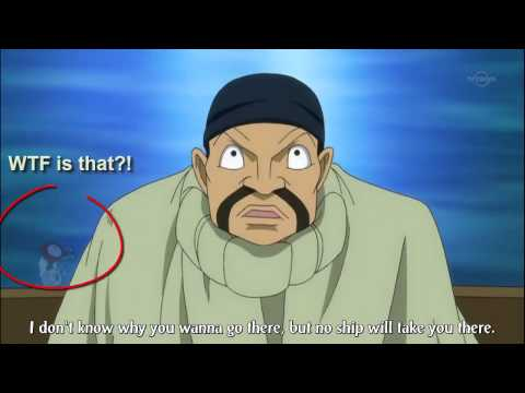 Fairy Tail Easter Egg or a Puffing D### on Episode 11-The Cursed Galuna Island (Hargeon Port Scene)