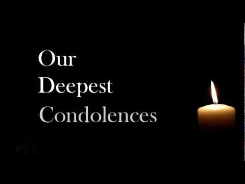 Our Deepest Condolences | OfficialBlindSpot