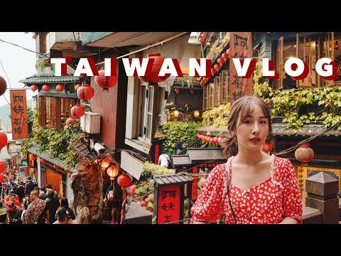 TAIWAN VLOG 🇹🇼 เที่ยวไทเป ไถ่จง ชานม ชมวิว ผับคาเฟ่ ครบ!   Brinkkty