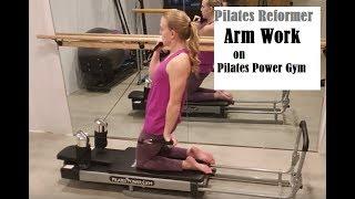 Reformer Arm Work on the Pilates Power Gym- Bennie Barre Fitness