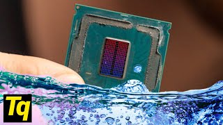 Water Cooling INSIDE A CPU