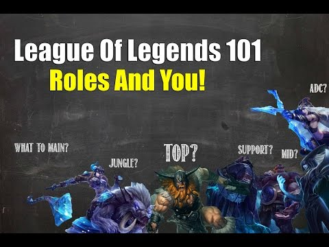 LOL 101: Roles And You!