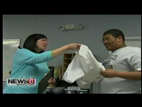 WTNH High Road Academy Story on Life Skills 4-9-2015