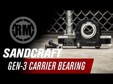 SANDCRAFT MOTORSPORTS Gen-3 CARRIER BEARING Can-Am Maverick X3 Max Turbo R