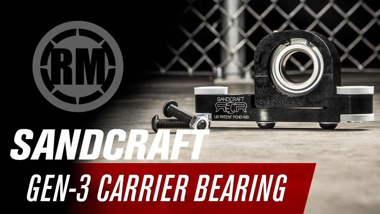 SANDCRAFT MOTORSPORTS Gen-3 CARRIER BEARING Whip Can-Am Maverick X3 Turbo R RS