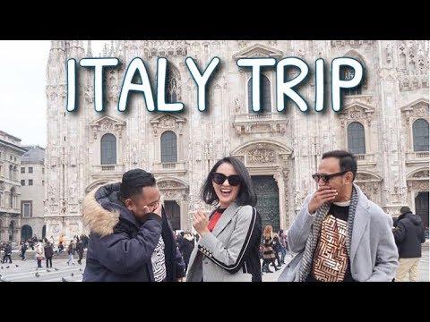 #VLOG27 - BIRTHDAY TRIP TO EUROPE (Part. 1 Italy)