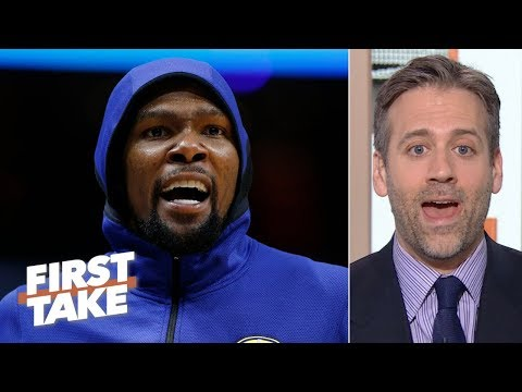 Kevin Durant's injury could wind up benefiting the Warriors' future - Max Kellerman | First Take