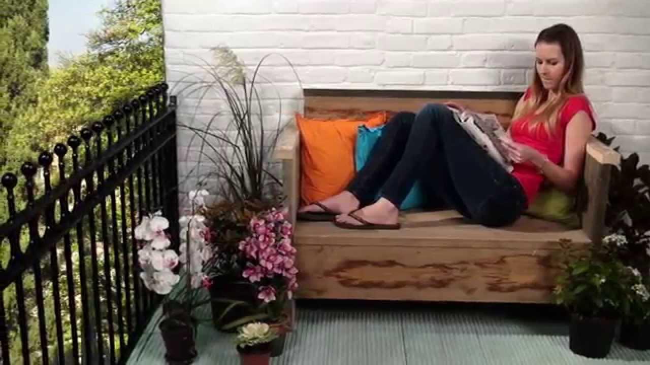 Tutoriel fabriquer une banquette en bois avec dremel - Fabriquer un banc de jardin en bois ...