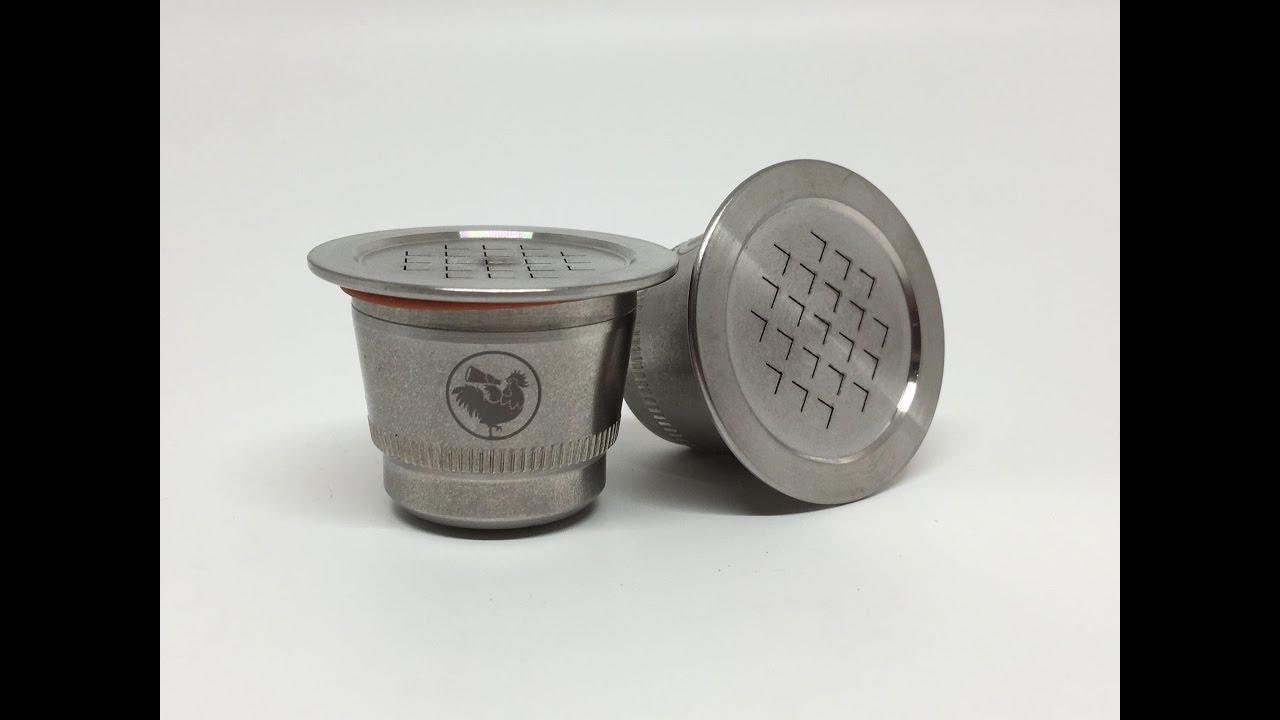Waycap Refillable Reusable Compatible Nespresso Coffee Capsules4k