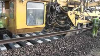 SNCF Algerie poser les rails de chemin de fer aujourd