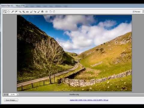 How to edit RAW landscape photos using Adobe Camera RAW