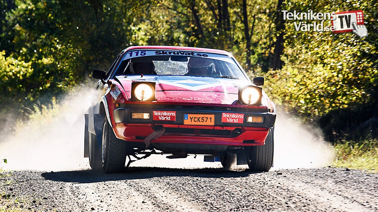 Rally Ruben In His Triumph Tr7 V8 Youtube