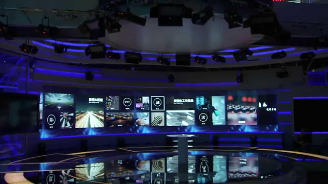 Prysm video wall solutions beijing tv multimedia for Salon multimedia