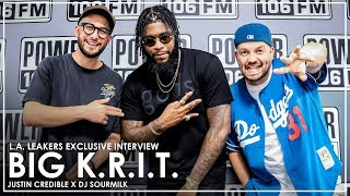 BIG K.R.I.T. On 'K.R.I.T. Iz Here' Album, Meeting Nipsey Hussle, Working w/ Lil Wayne, And More!