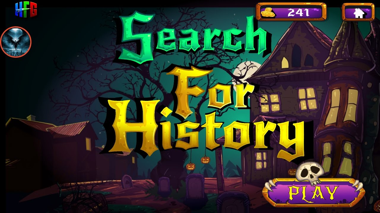 halloween search for history walkthrough - youtube