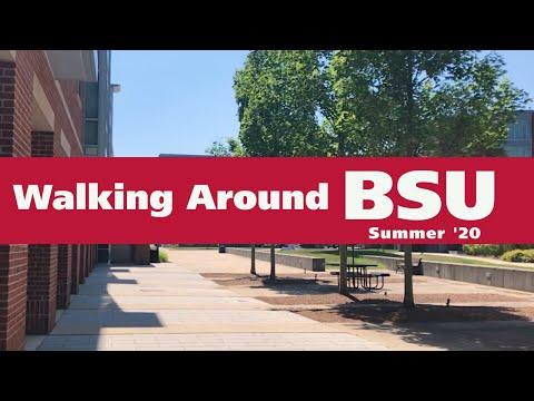 Walking Around Bridgewater State University - Summer '20