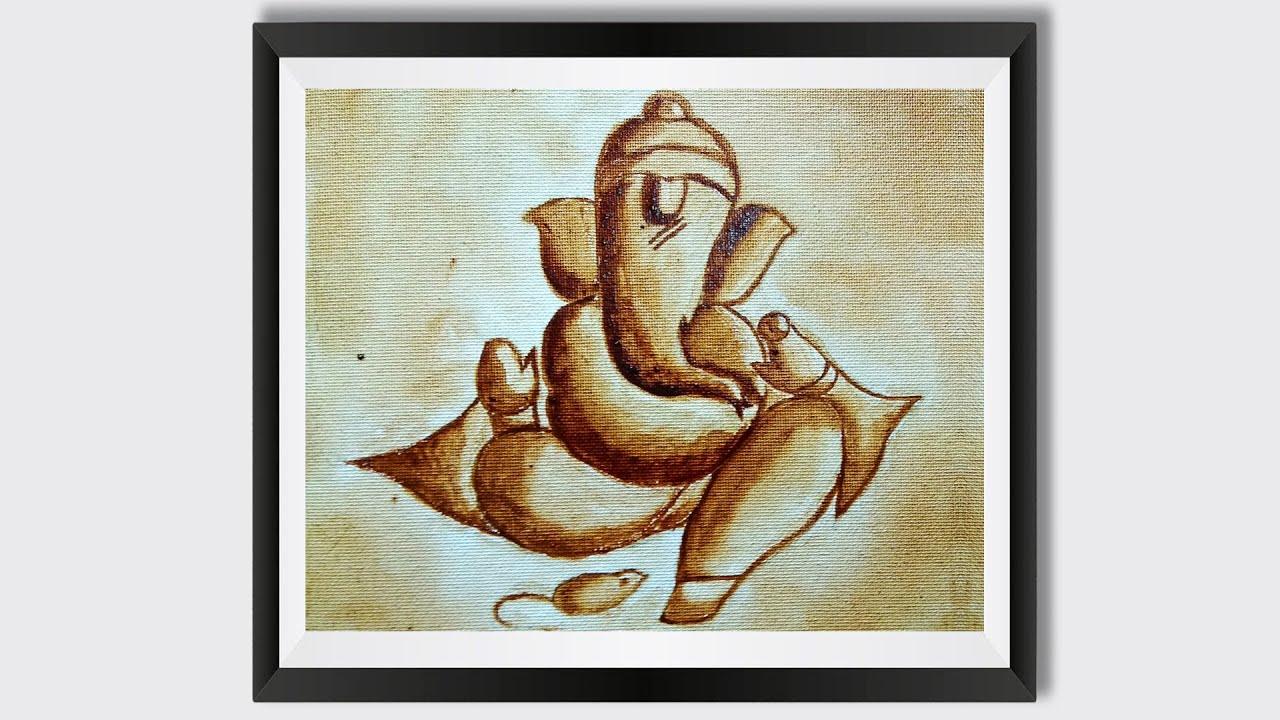 Featured image of post Ganpati Painting Simple
