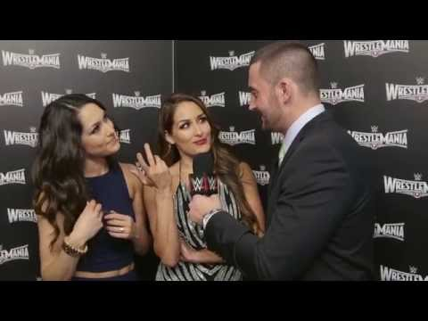 The Bella Twins im Interview mit Sebastian Hackl: WWE hautnah – WrestleMania 31