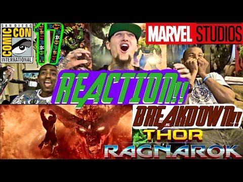 Thor: Ragnarok Official Trailer REACTION & BREAKDOWN!! (GOAT!?)