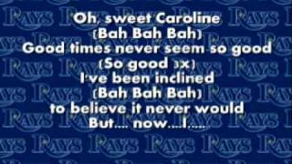 Sweet Caroline - Neil Diamond - Lyrics thumbnail