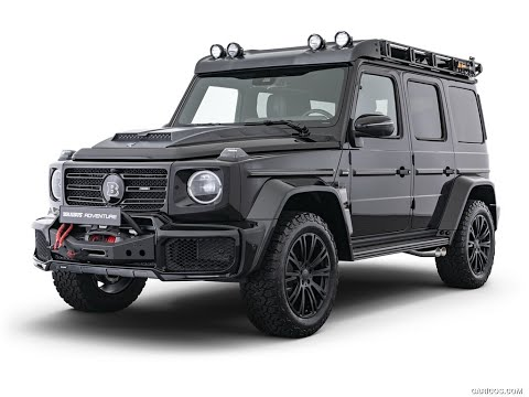BRABUS ADVENTURE based on Mercedes‑Benz G‑Class 2020 Review