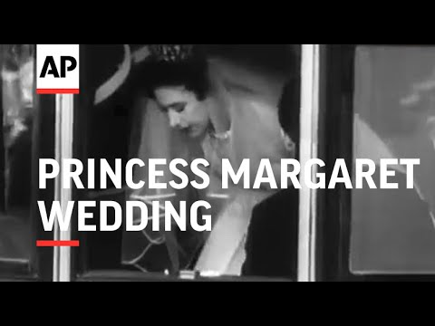 Royal Wedding - Princess Margaret - 1960