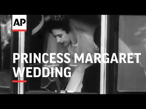 We Take a Look Back at Princess Margaret's Wedding