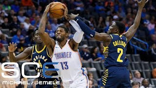 What to expect when Paul George returns to play the Pacers with the OKC Thunder | SC6 | ESPN