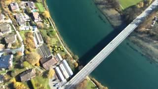 Wohlensee Chappelebrügg Baustelle 05.11.2015