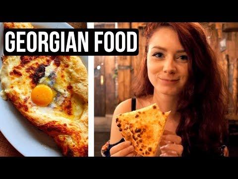 Trying GEORGIAN FOOD In TBILISI 🇬🇪 FINALLY Travelling GEORGIA!