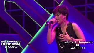 Sunidhi Chauhan Sings Ishq Sufiyana At Channel V Indiafest in Goa