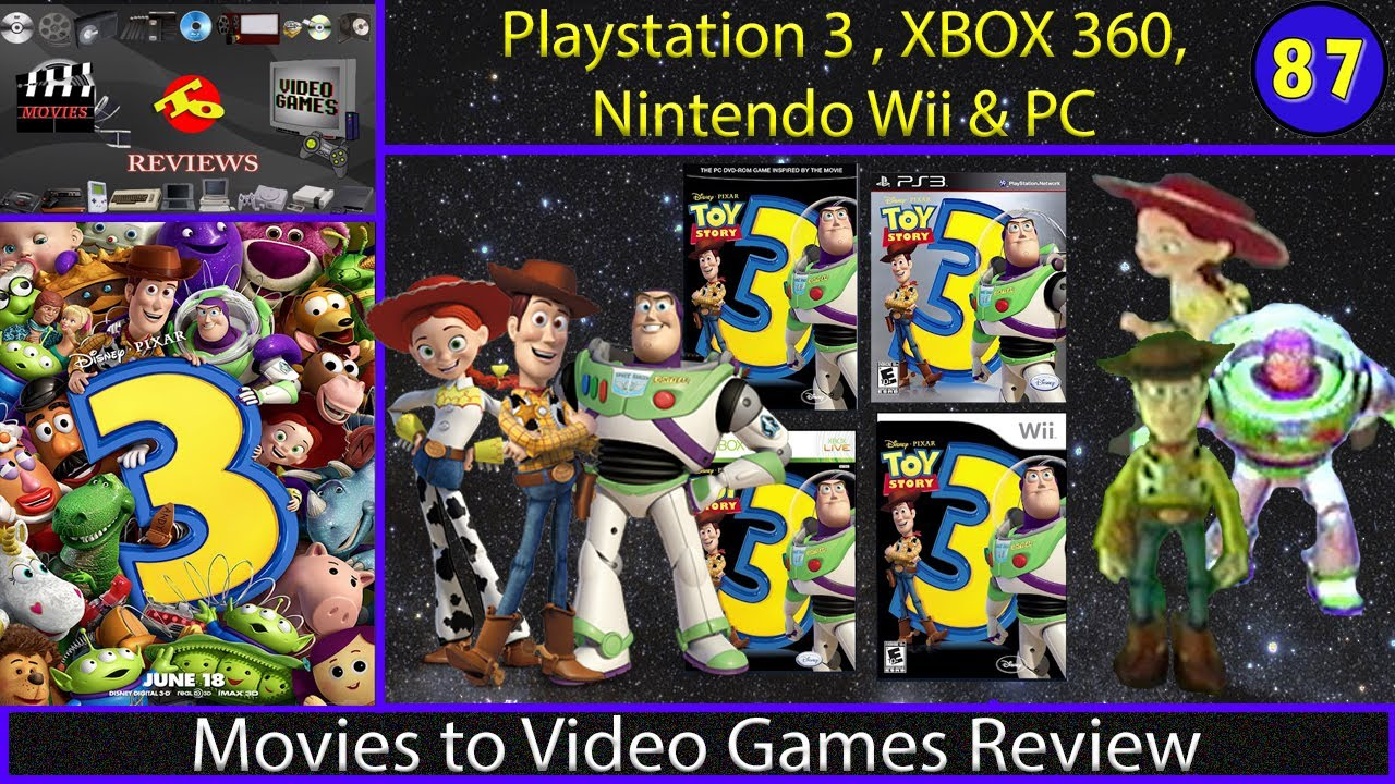 Movie Games For Ps3 : Movies to video games review toy story ps xbox