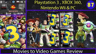 Movies to Video Games Review - Toy Story 3 (PS3, Xbox 360, Wii, PC)