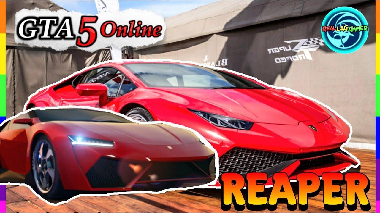 GTA 5 CARS IN REAL LIFE: Pegassi Reaper Finance & Felony
