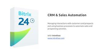 Bitrix24 CRM & Sale Automation