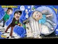 BUBBLE BOY! Upside Down House Playtime w  GIANT Piano & Robot Dessert FUNnel Vision MB Vlog #4