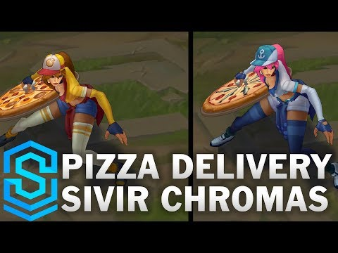 Pizza Delivery Sivir Chroma Skin League Of Legends Skin